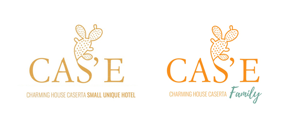 Cas'E Charming House Caserta Small Unique Hotel Logo