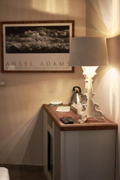 Ansel Adams - illuminazione Kartell - bollitore