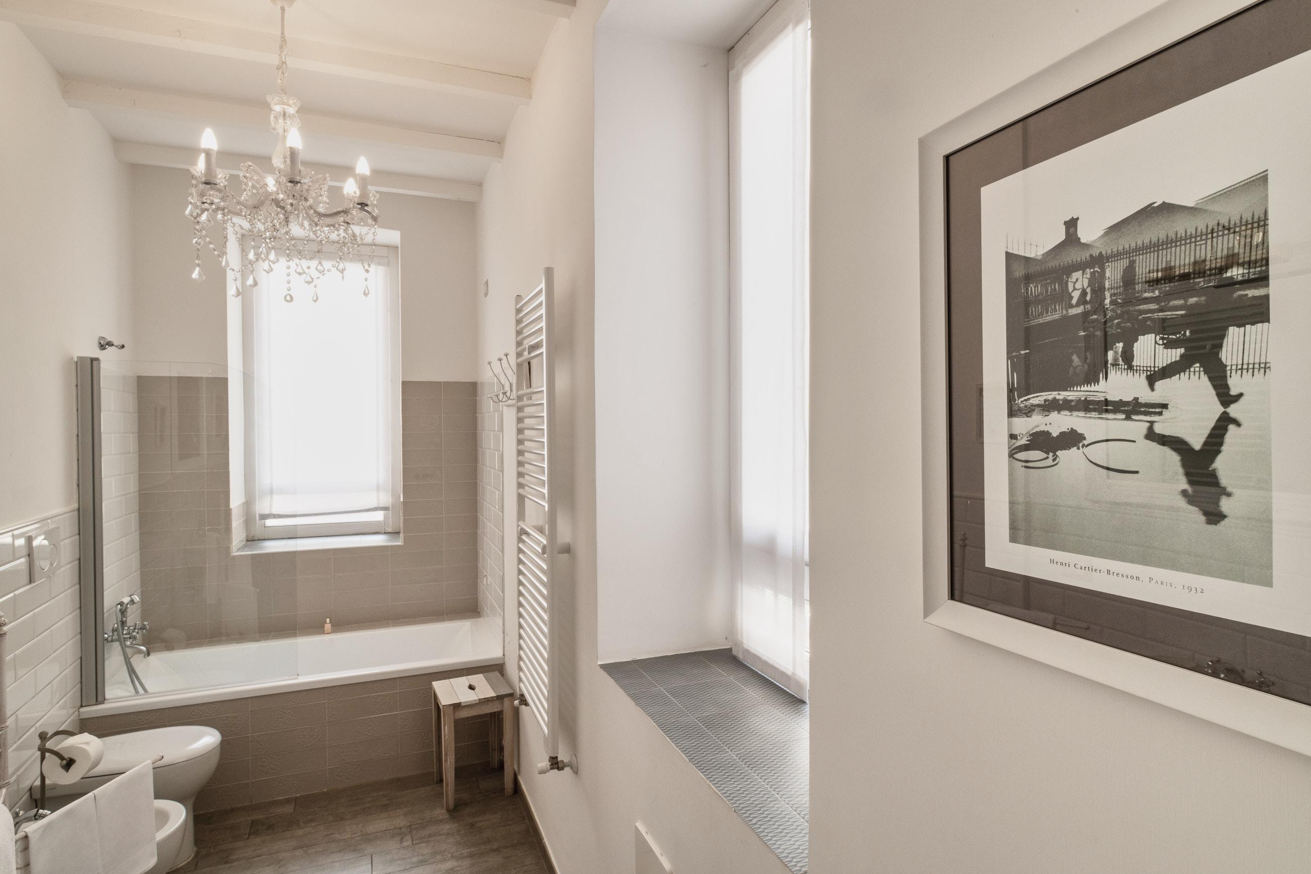 Henri Cartier Bresson - bagno - particolari